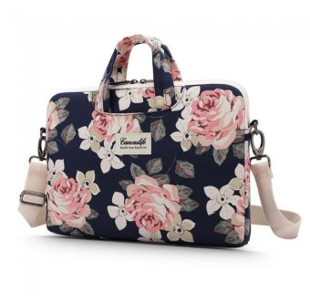 "Canvaslife briefcase 15""-16"" 5906735410051 navy rose"