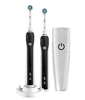 Oral-B Pro 790 Cross Action Black Duo